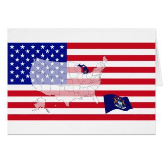 Michigan, USA Greeting Card