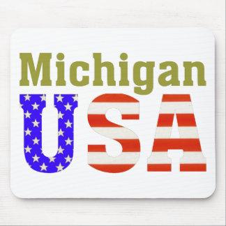 Michigan USA! Mouse Pad