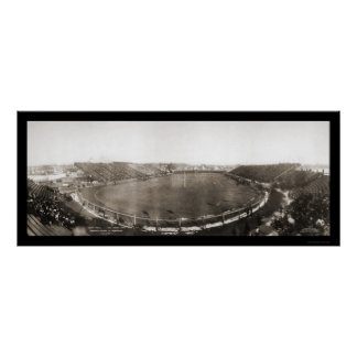 Michigan vs University of Pennsylvania Photo 1907 Poster