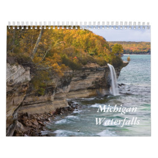 Michigan Waterfalls Calendar