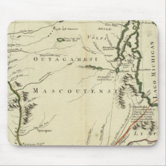 Michigan, Wisconsin, Illinois Mouse Pad