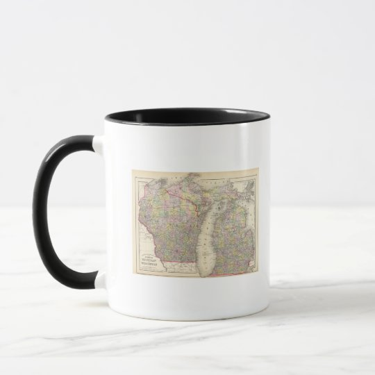 Michigan, Wisconsin Mug