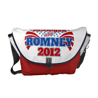 Michigan with Romney 2012 Courier Bags
