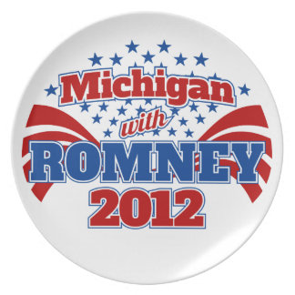 Michigan with Romney 2012 Plate