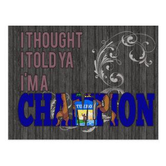 Michigan y un campeón postal