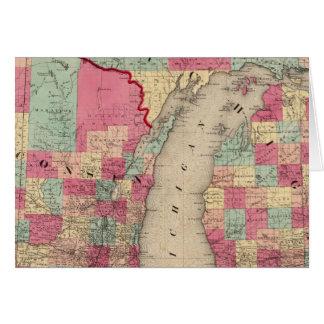 Michigan y Wisconsin Tarjeton