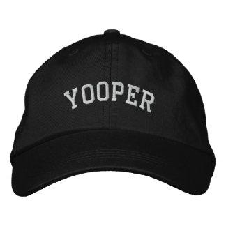 Michigan Yooper Embroidered Adjustable Cap Black