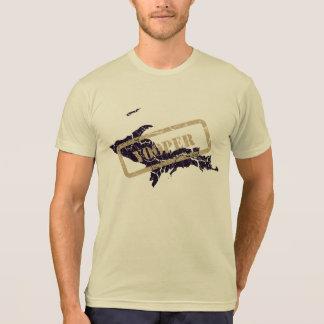 Michigan Yooper Grunge Mens Light T-shirt