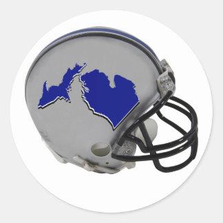 Michigandered Classic Round Sticker