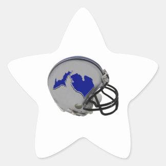 Michigandered Star Sticker