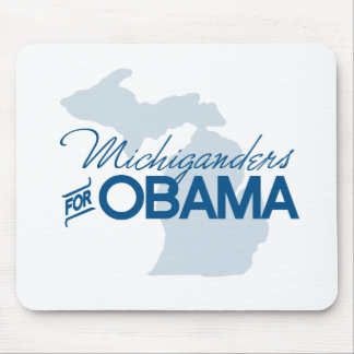 Michiganders for Obama.png Mouse Pad