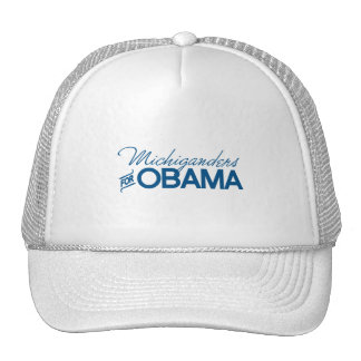Michiganders for Obama -.png Trucker Hat