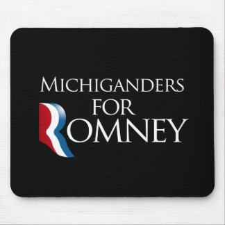 Michiganders for Romney -.png Mouse Pad