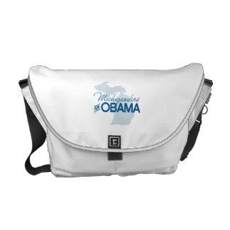 Michiganders para Obama.png Bolsas Messenger