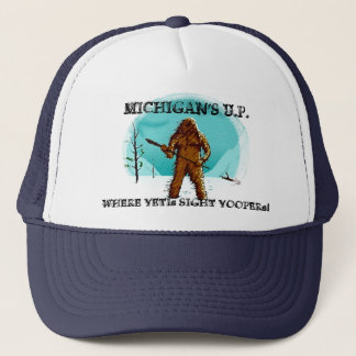 Michigan's U.P. ~ Where Yetis sight Yoopers - Hats