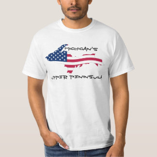 Michigan's Upper Peninsula Flag Shirt