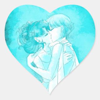 Michiru & Haruka - Wedding Sticker