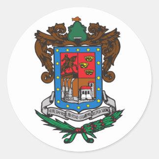 Michoacan, Mexico Classic Round Sticker