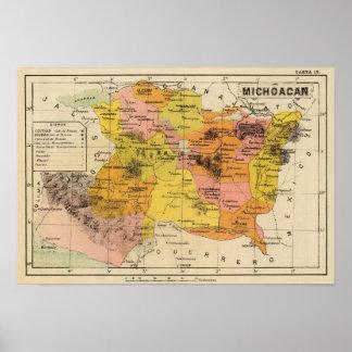 Michoacan, Mexico Poster