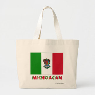 Michoacán Unofficial Flag Tote Bags