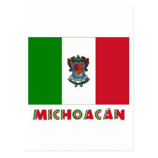 Michoacán Unofficial Flag Postcards