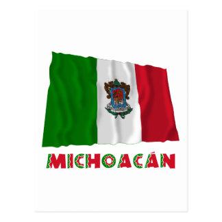Michoacán Waving Unofficial Flag Postcard