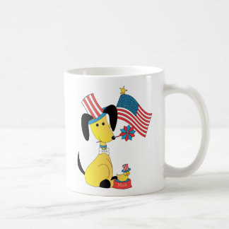 Mick and Henry Celebrate the 4th of July Coffee Mugs