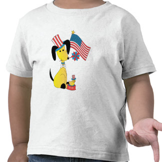 Mick and Henry Celebrate the 4th of July T Shirts