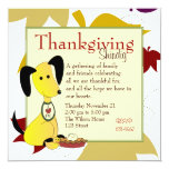 Mick and Henry Love Pie 5.25x5.25 Square Paper Invitation Card