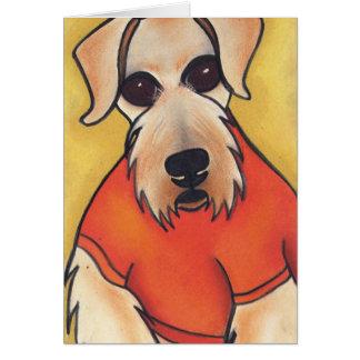 Mick L'orange' by Robyn Feeley Card