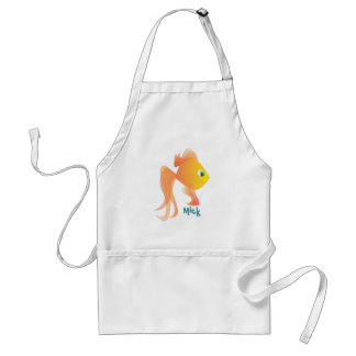 Mick the Goldfish Adult Apron