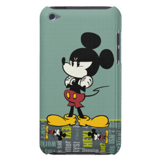 Mickey 1 barely there iPod cárcasa