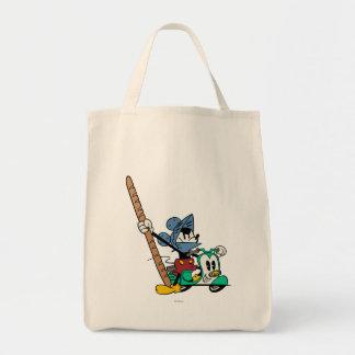 Mickey 2 bolsa lienzo