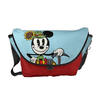 Mickey 3 bolsas messenger
