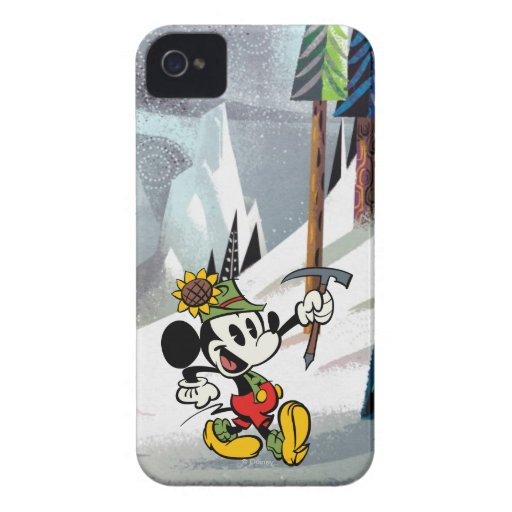 Mickey 4 iPhone 4 protectores