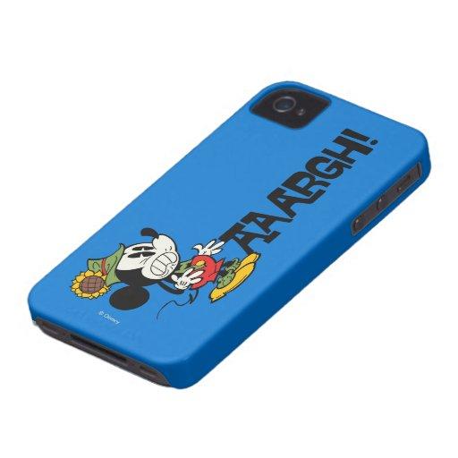 Mickey 7 iPhone 4 carcasa
