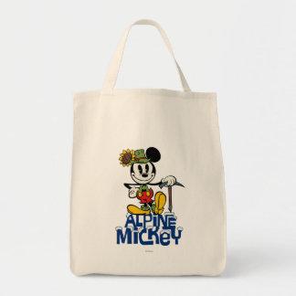 Mickey alpino bolsa tela para la compra