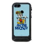 Mickey alpino funda para iPhone 5 incipio ATLAS ID