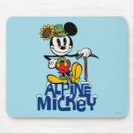 Mickey alpino tapete de ratones