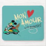 Mickey - amorío de lunes tapetes de raton