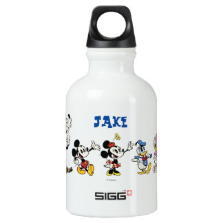 Mickey and Friends 2 Aluminum Water Bottle