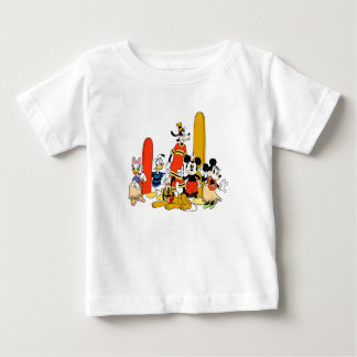 Mickey and Friends at the Beach Baby T-Shirt
