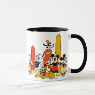 Mickey and Friends at the Beach Mug