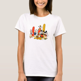 Mickey and Friends at the Beach T-Shirt