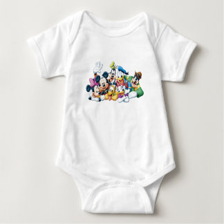 Mickey and Friends Baby Bodysuit