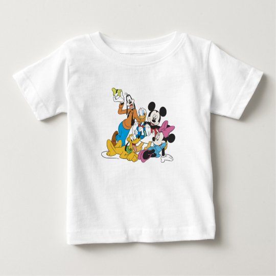 Mickey and Friends Baby T-Shirt