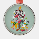 Mickey and Friends | Christmas Pyramid Metal Ornament