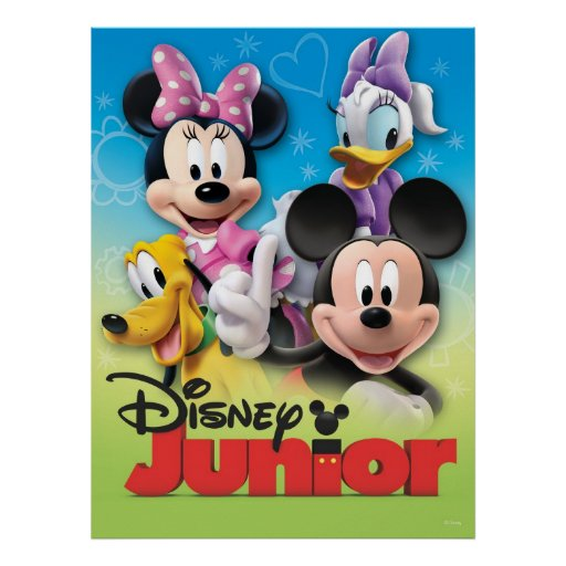 Mickey and Friends: Disney Junior Print