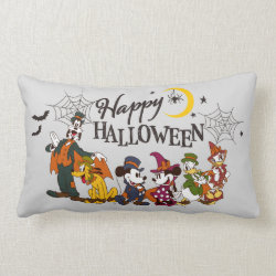Mickey and Friends | Happy Halloween Lumbar Pillow