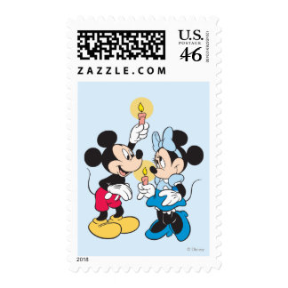 Mickey and Friends Happy Hanukkah Postage Stamp